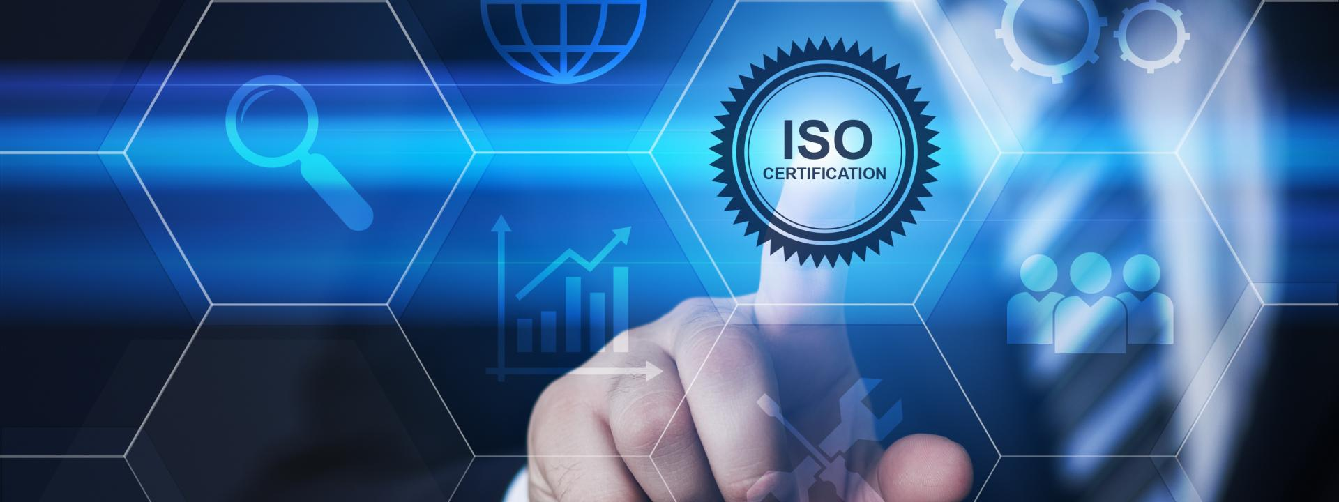 Certifications ISO.